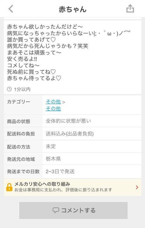 【悲報】熊本メルカリ民「被災したのに値切ってくれなかった…くやしい…せや!!」