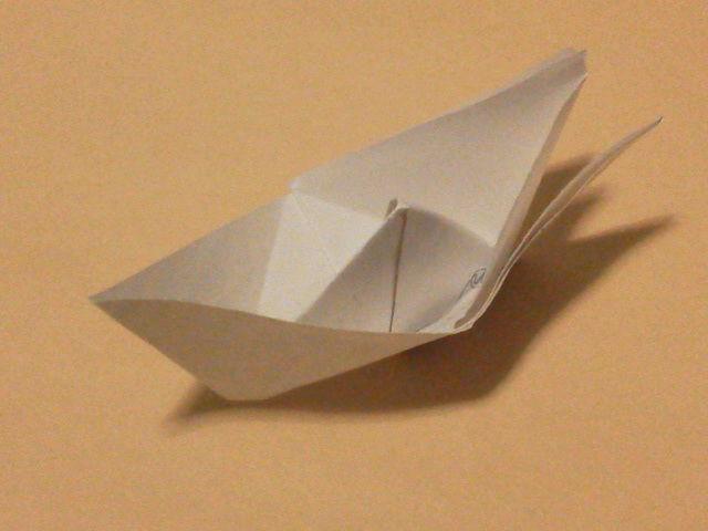 クリスマス 折り紙:船 折り紙-blog.livedoor.jp