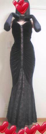 女装子&MTF・マーメイドラインドレス