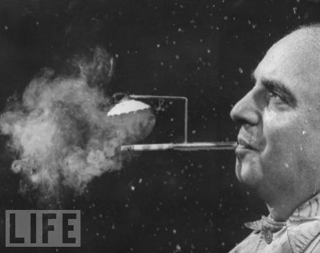Rainy Day Cigarette Holder, 1954