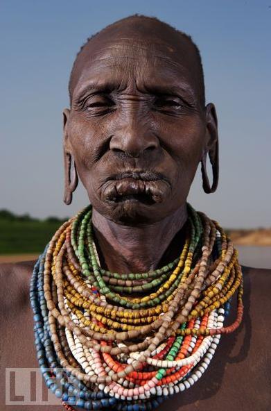 Mursi Woman, Omo River Valley