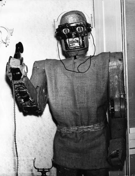 Phone-Answering Robot, 1964