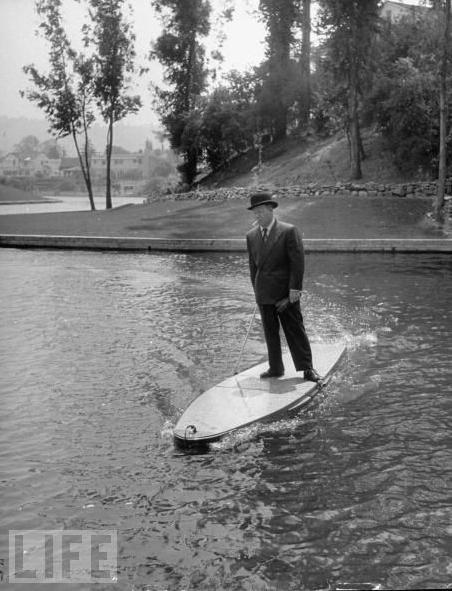 Motorized Surfboard, 1948