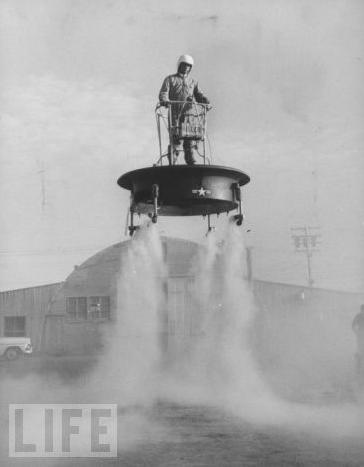 Flying Platform, 1956