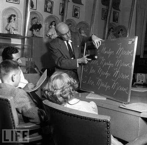 Handwriting Game, 1955