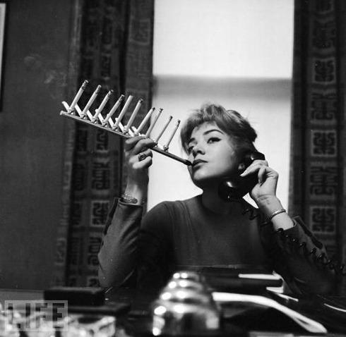 Cigarette Pack Holder, 1955