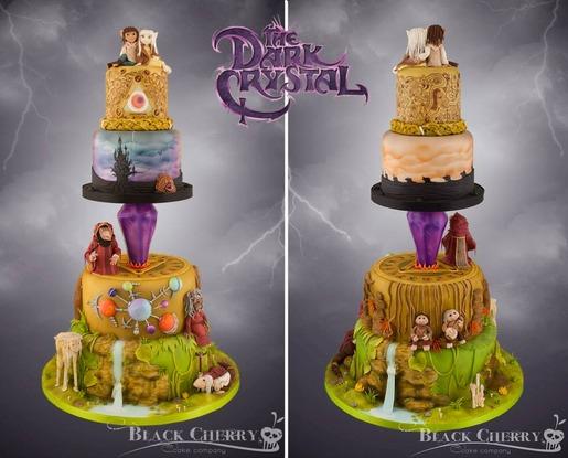 the-dark-crystal-inspired-wedding-cake