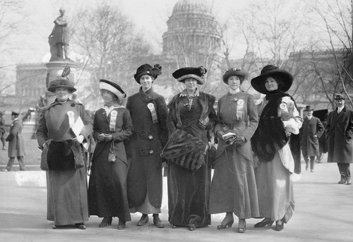 The 1913 Women's Suffrage Parade-07