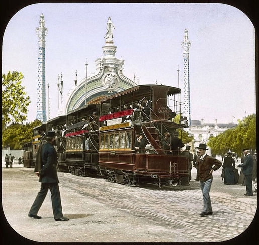 The 1900 Paris World's Fair in Color (1)