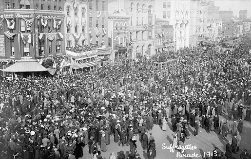 The 1913 Women's Suffrage Parade-19