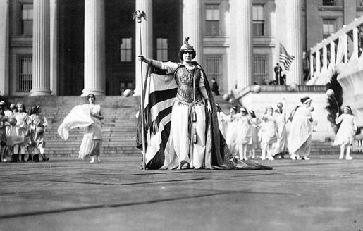 The 1913 Women's Suffrage Parade-01