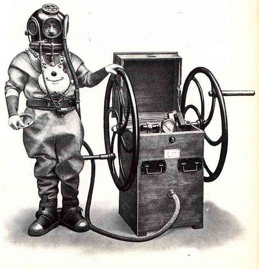 History of Diving Suits 12