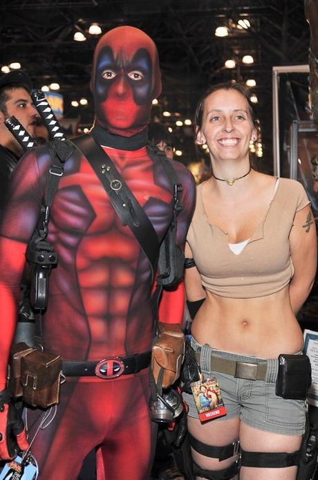 Deadpool and Tomb Raider