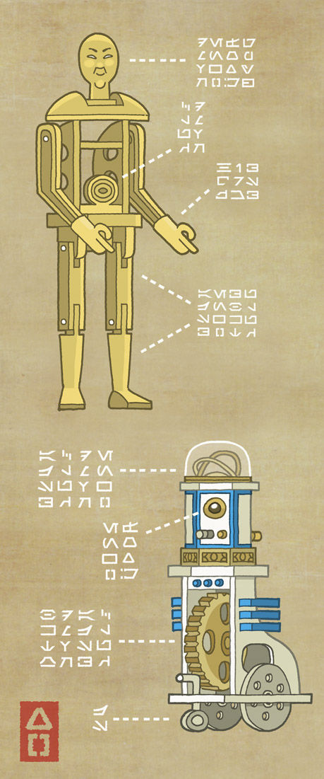 C-3PO-and-Karakuri-D2