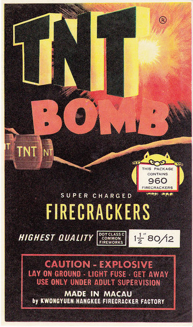 Chinese Firecracker Labels 09