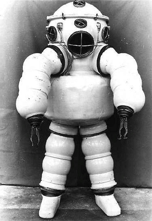 History of Diving Suits 21