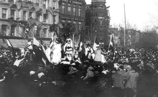 The 1913 Women's Suffrage Parade-22