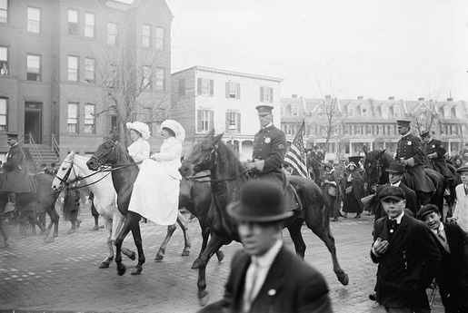 The 1913 Women's Suffrage Parade-10