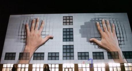 facade projection