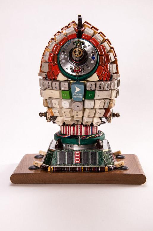 Junk Art C3PO Woody-4063