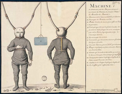 History of Diving Suits 03