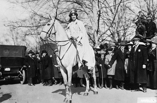 The 1913 Women's Suffrage Parade-12