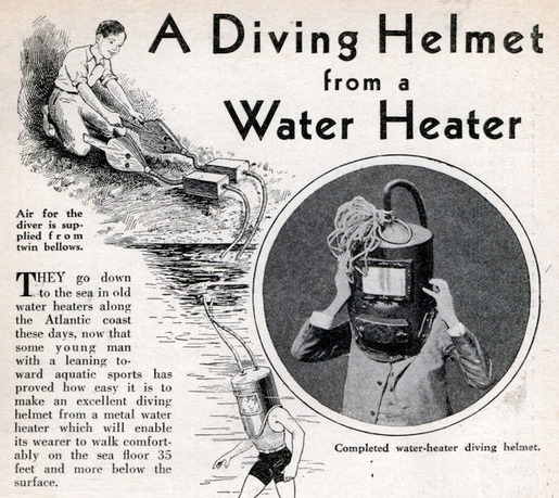 History of Diving Suits 24