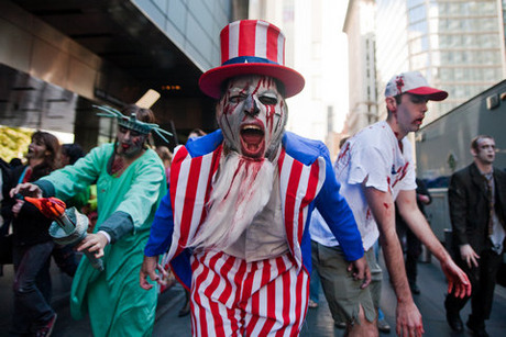 57_Zombies roamed the streets of NYC