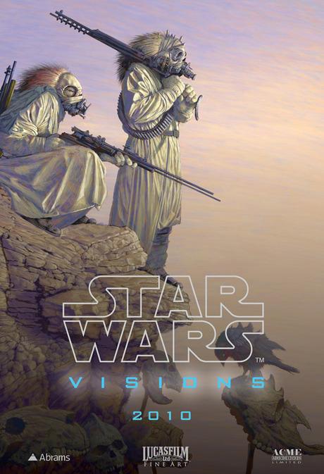 Star Wars Visions art by Ed Binkley