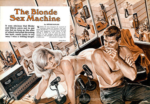 Stag, The Blonde Sex Machine (1970) Norem - 007