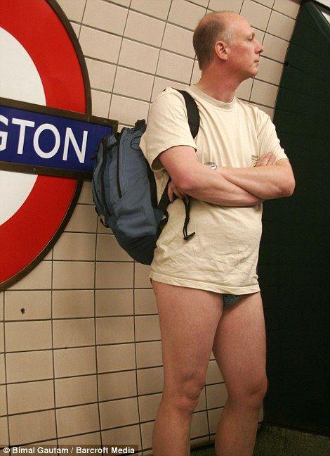 No Pants Subway Ride 11