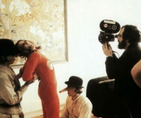BEHIND-THE-SCENES OF 'A CLOCKWORK ORANGE' 09