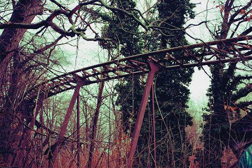 Surreal Abandoned Amusement Park in Berlin 02