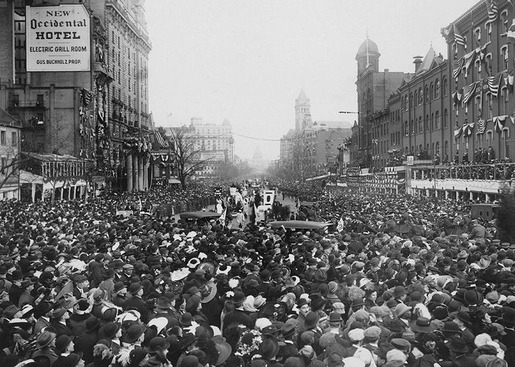 The 1913 Women's Suffrage Parade-21