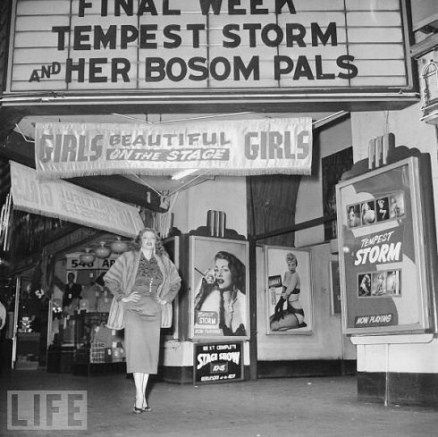 Tempest Storm and Her Bosom Pals, 1954