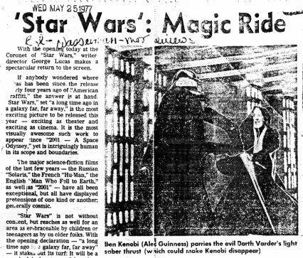 Star Wars Opening 21