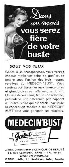 MEDECIN'BUST 52A (1952) Guerir 11-8