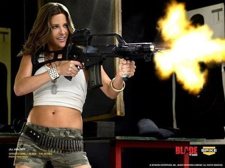 gun and woman_26