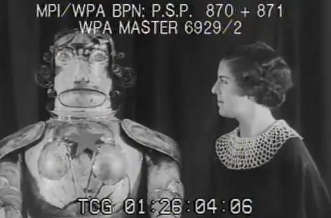 Alpha the Robot (1934)