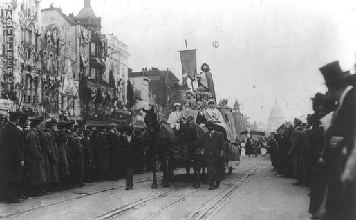 The 1913 Women's Suffrage Parade-16