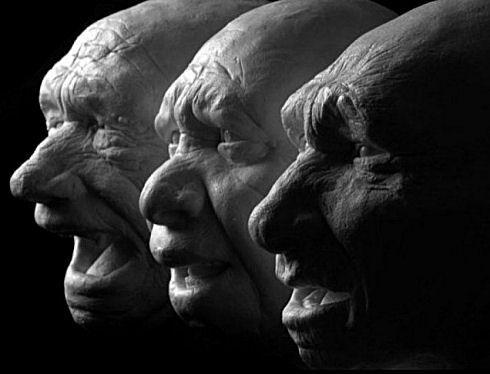 Three neanderthal