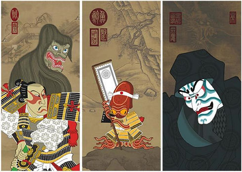 Ninja Star Wars Art Prints by Steve Bialik