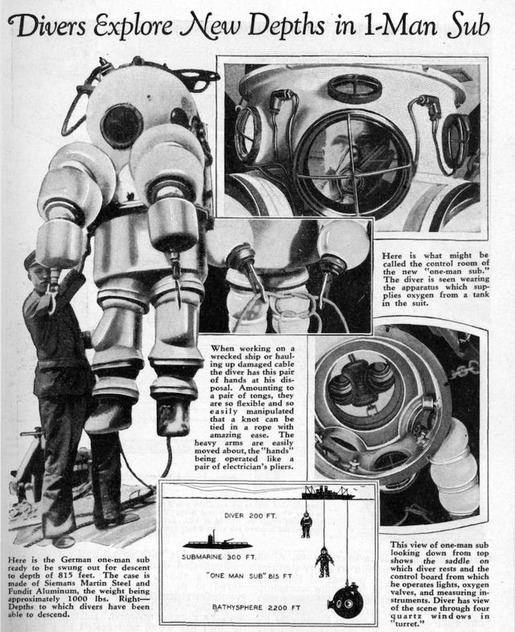 History of Diving Suits 27