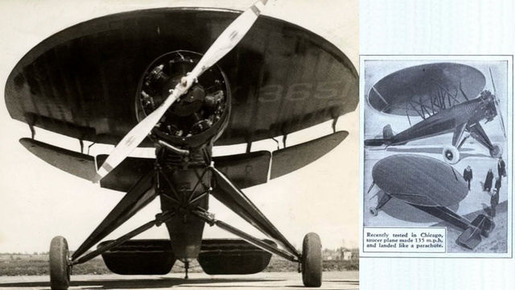 Nemeth Circle Aircraft or Roundwing, 1934
