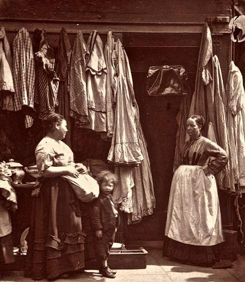 An-Old-Clothes-Shop-Seven-Dials