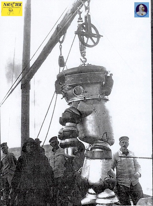 History of Diving Suits 19