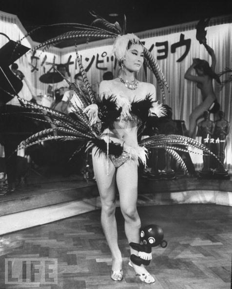 Japanese Nightclub Stripper