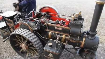 Scale Model Steam Tractor