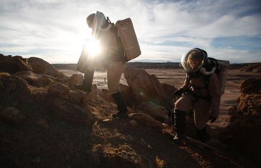Mars base in Utah 05
