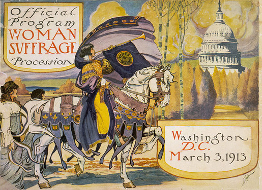 The 1913 Women's Suffrage Parade-03
